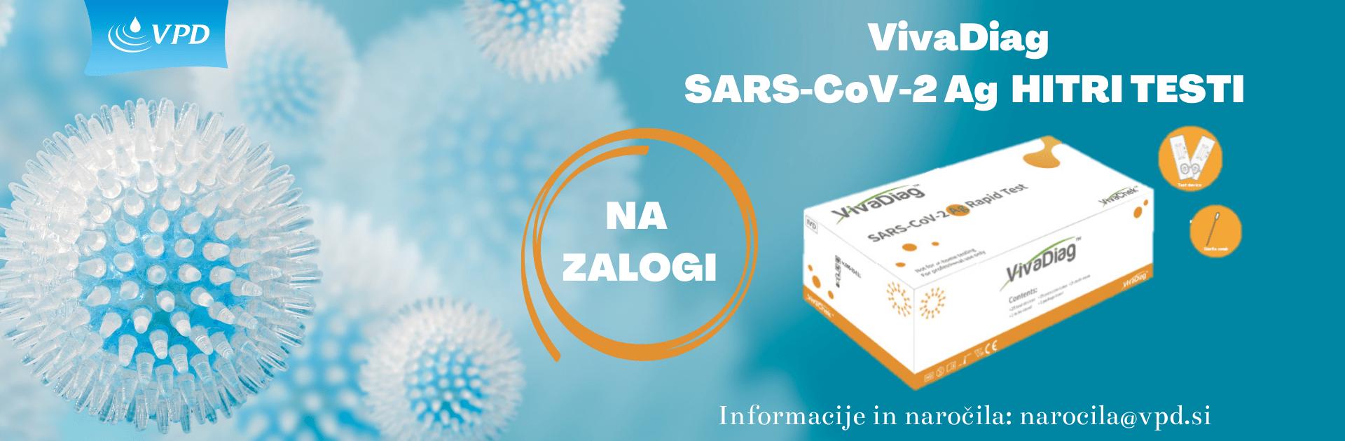 VivaDiag SARS CoV 2 Ag HITRI TESTI 1